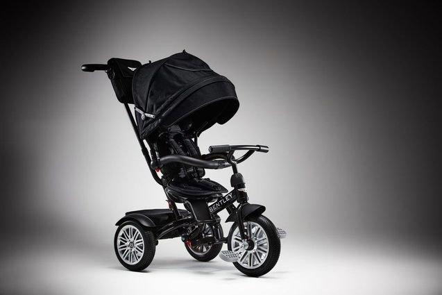 Детский трехколесный велосипед Bentley (лицензионный, трансформер)