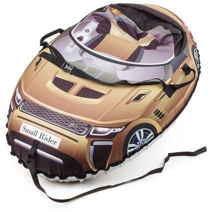 Надувные санки-тюбинг Small Rider Snow Cars в стиле Range Rover (вес 2.8 кг, нагрузка до 180кг)