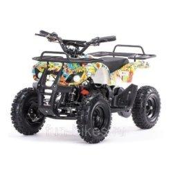 Детский квадроцикл на аккумуляторе MOTAX Mini Grizlik Х-16 мощностью 1000W бомбер (пульт контроля, до 30 км/ч)